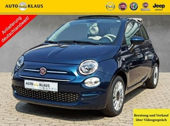 Fiat 500C 1.0 Hybrid Lounge Tempomat CarPlay PDC