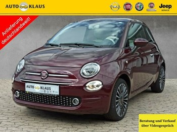 Fiat 500 1.2 Lounge Panoramadach CarPlay PDC LM
